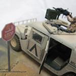 008 Finished M1025 Humvee Diorama Tamiya 35263