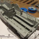 008 working on the interior AAVP 7A1 RAM RS HobbyBoss 82415