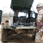 017 Finished M1025 Humvee Diorama Tamiya 35263