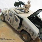 021 Finished M1025 Humvee Diorama Tamiya 352631