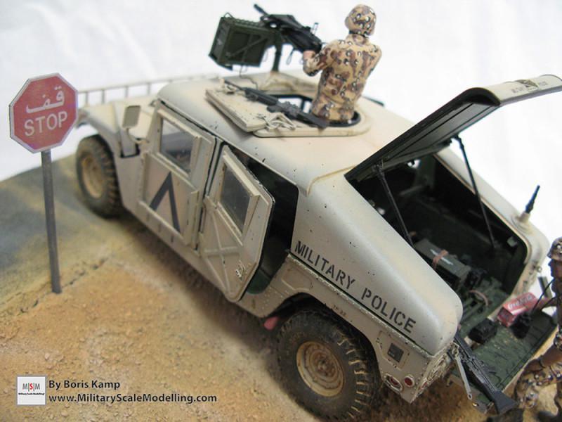 M1025 Humvee Arnament Carrier (Tamiya 35263)