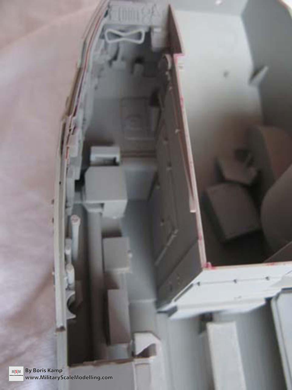 painted with primer (AAVP-7A1 RAM RS HobbyBoss 82415)