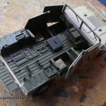 027 painted everything in its base colour and applied decals M1025 Humvee Arnament Carrier Tamiya 35263