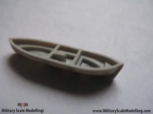 031 Adding detail to the rescue boat JPG USS ESSEX CV9 In Progress Pictures