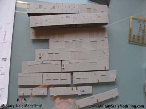 035 Adding realdoors JPG USS ESSEX CV9 In Progress Pictures