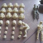 041 Cleaned all the resin MOLLE bags figures AAVP 7A1 RAM RS HobbyBoss 82415