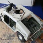 042 painted everything in its base colour and applied decals M1025 Humvee Arnament Carrier Tamiya 35263