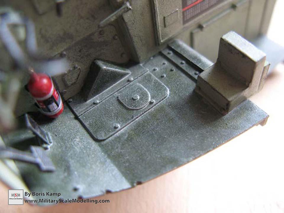 Applied a light sand wash (AAVP-7A1 RAM RS HobbyBoss 82415)