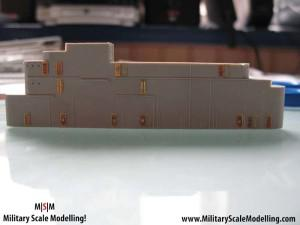 053 Adding PE doors to the main stucture JPG USS ESSEX CV9 In Progress Pictures
