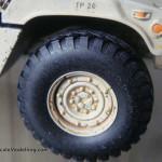 060 pictures of the weathering progress M1025 Humvee Arnament Carrier Tamiya 35263