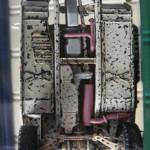 062 pictures of the weathering progress M1025 Humvee Arnament Carrier Tamiya 35263