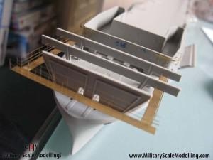 065 added it to the front  JPG USS ESSEX CV9 In Progress Pictures