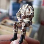 066 painting of the figures M1025 Humvee Arnament Carrier Tamiya 35263