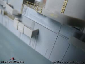 068 detailling the main structure JPG USS ESSEX CV9 In Progress Pictures