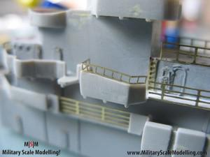 072 detailling the main structure JPG USS ESSEX CV9 In Progress Pictures