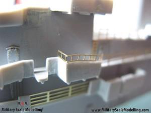 073 detailling the main structure JPG USS ESSEX CV9 In Progress Pictures