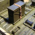 079 pictures of the detailing of the interiour M1025 Humvee Arnament Carrier Tamiya 35263