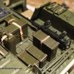 081 pictures of the detailing of the interiour M1025 Humvee Arnament Carrier Tamiya 35263