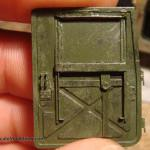 082 pictures of the detailing of the interiour M1025 Humvee Arnament Carrier Tamiya 35263