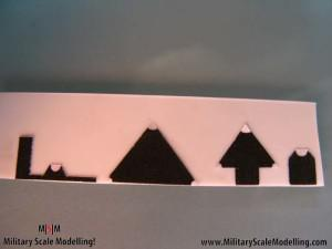 085 creating the main radar tower JPG USS ESSEX CV9 In Progress Pictures