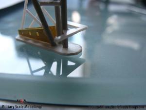 089 creating the main radar tower JPG USS ESSEX CV9 In Progress Pictures