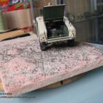 091 how i created the diorama base M1025 Humvee Arnament Carrier Tamiya 35263