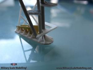 092 detalling the underside JPG USS ESSEX CV9 In Progress Pictures
