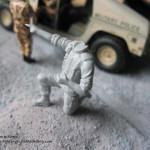 093 how i created the diorama base M1025 Humvee Arnament Carrier Tamiya 35263