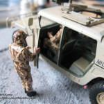 094 how i created the diorama base M1025 Humvee Arnament Carrier Tamiya 35263