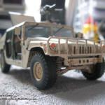 097 how i created the diorama base M1025 Humvee Arnament Carrier Tamiya 35263
