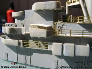 097 some more pics of the main structure JPG USS ESSEX CV9 In Progress Pictures