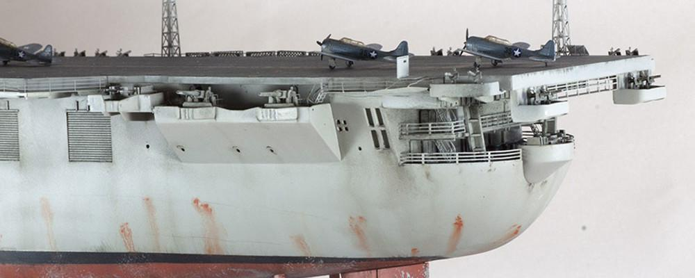 1 350 USS Essex trumpeter 014 Finished model1