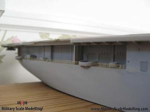 112 added fencing to the sides JPG USS ESSEX CV9 In Progress Pictures