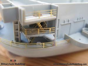 113 - added fencing to the sides.JPG - USS ESSEX CV9 In Progress Pictures