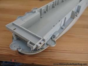 114 added fencing to the sides JPG USS ESSEX CV9 In Progress Pictures