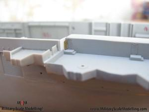118 some gun platforms JPG USS ESSEX CV9 In Progress Pictures
