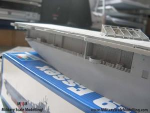 122 painted with primer still alot to do JPG USS ESSEX CV9 In Progress Pictures