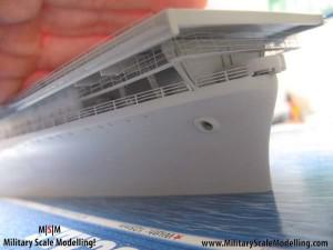 123 - painted with primer, still alot to do.JPG - USS ESSEX CV9 In Progress Pictures