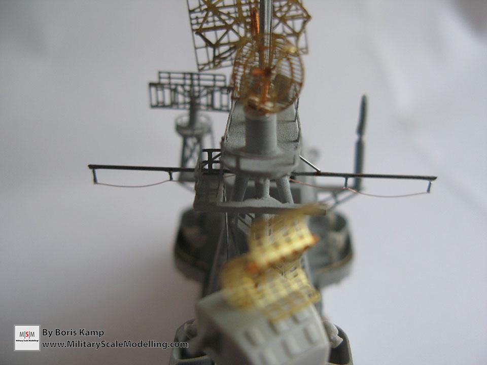 The scratched Mast