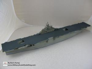 143 1 350 USS Essex CV 9 Painted the flightdeck and vertical surface of the hull