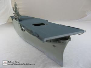 144 1 350 USS Essex CV 9 Painted the flightdeck and vertical surface of the hull