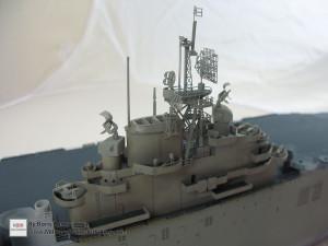 148 1 350 USS Essex CV 9 the rear of the island