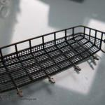 17 the basket which will be placed on the back of the hull Type 90 J G S D F Tamiya 35260