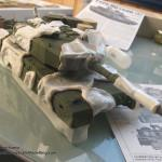30 added posterbuddies on the base colour for the next step Type 90 J G S D F Tamiya 35260