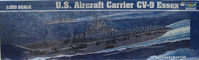 U.S. Aircraft Carrier CV-9 Essex (Trumpeter 05602)