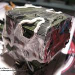 001 here you can see how is mask the model for hard edge camo painting MAN 7t  milgl 6X6 Truck Revell 3081