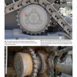 006 D9R sprocket wheels Doobi D9 Bulldozers Desert Eagle Publishing (By Boris Kamp)