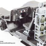 007 Dashboard detail Meng 135 GAZ 2330 Tiger