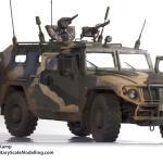 009 right front Meng 1 35 GAZ 2330 Tiger