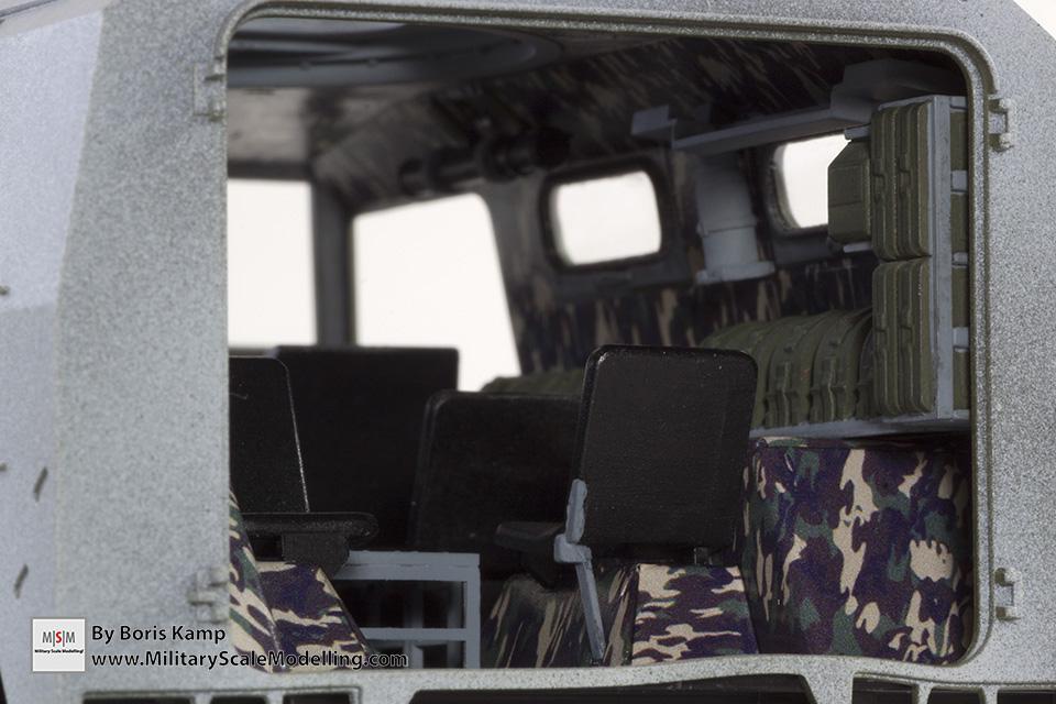 interior GAZ-2330 (Meng 1:35 GAZ-2330 Tiger)